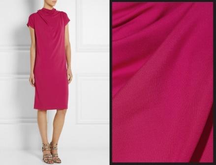 Платье из визкосы